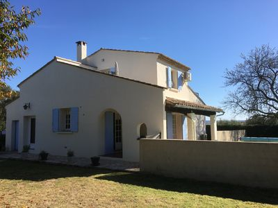 Photo for 3 Bedroomed House in Walking Distance to Uzes with Swimming Pool