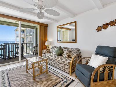 Photo for Ocean Front | AC & WIFI | Easy Walk into Town