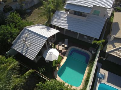 Photo for WONDERFUL HOUSE on the edge of the river, pool, cond. close, excellent price carnival
