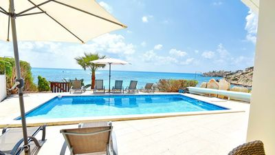 Photo for Villa With Private Pool On The Sea Front In Coral Bay - Short Walk To Amenities.
