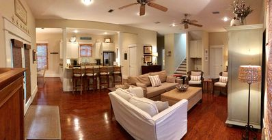 """""""Great Room"""" for family gatherings"""