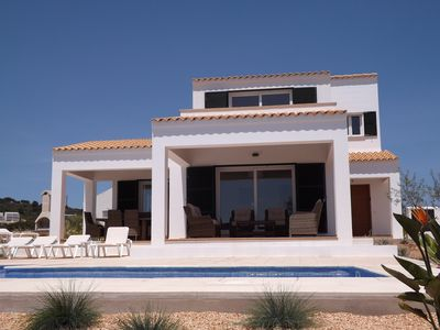 Photo for Large Detached Villa With Private Pool And Sea Views