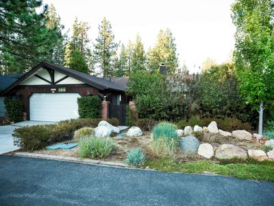 Photo for Luxury Home for All Seasons- Walk to Lake, Private Yard with Hot Tub and BBQ