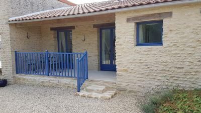 Photo for La Petite Maison Bleue - New Gite with heated pool