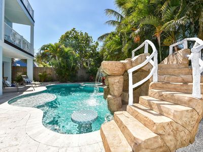Photo for Fun for everyone! 7 Bedroom Luxury Home just a 2-minute walk from the beach!!!