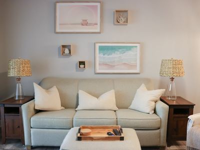 Photo for ★Modern Comfort★ Ground floor steps to the beach. Families & Couples will ♥ it.