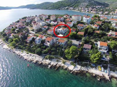 Photo for Two bedroom apartment with terrace Seget Vranjica, Trogir (A-978-a)