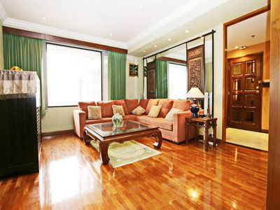 Photo for 2BR/2BTH City View Apt @Central BKK