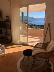 Photo for House with garden and sea view. Quiet area, proximity to the beach
