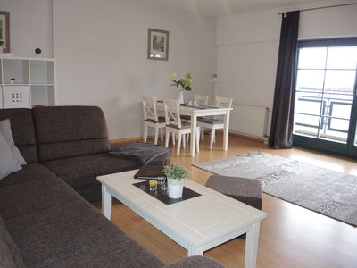 Photo for Apartment at the harbor 2, Suite Störtebecker (FR) - Usedom Suites directly at the harbor EC 30 with parking. near the sea