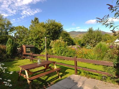 Photo for CENTRAL LAKE DISTRICT HOUSE WITH MOUNTAIN VIEWS FROM GARDEN, Super Fast WiFi