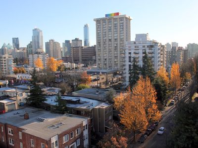 Photo for English Bay Beach Studio with Free Parking. Steps To Everything in Downtown