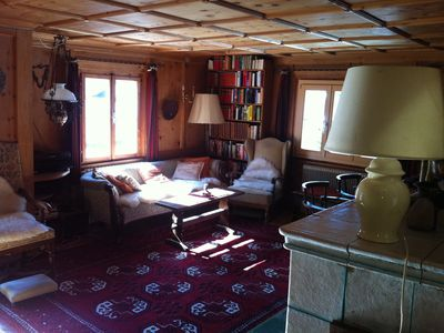 Photo for Now with pool and sauna, nice furniture, lots of books, pets welcome