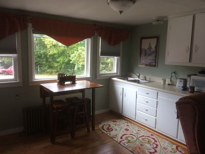 Photo for Adirondack perch!2nd floor,2bed/1bath rental apartment.  Whitewater basecamp!