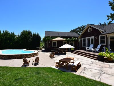 Photo for Kenwood Farmhouse - A Little Piece Of Heaven Amongst The Vineyards!  2 Bedrooms,