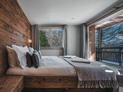 Photo for Unique luxury chalet, stunning views, guaranteed snow, catering available