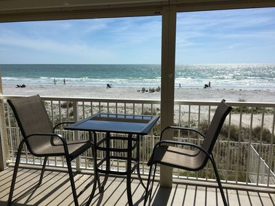 Photo for Beachfront condo, Gulf of Mexico! PREMIER VRBO PARTNER