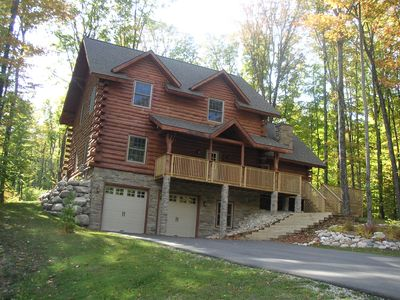 Photo for 3,200 Sq. Ft. Ski-in/Ski-out Boyne Highlands Chalet with Hot Tub