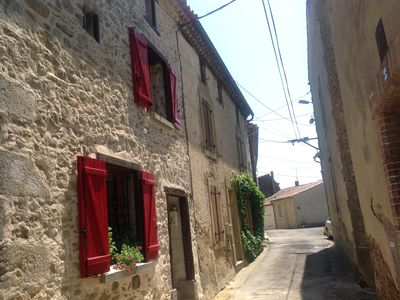 Photo for Village house comfortable 20 minutes from Carcassonne and 1 hour from Toulouse