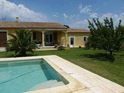 Photo for Villa 5pers + Swimming Pool Near Nimes, Saint Remy de Provence, Avignon, Pont du Gard