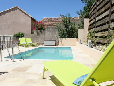Photo for Maison de Farine is a renovated stone house with pool in the South of France