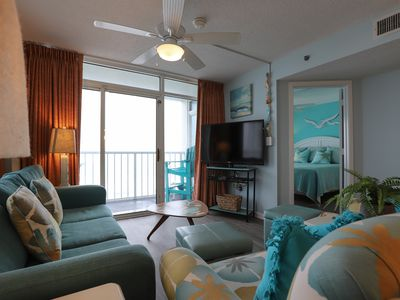 Photo for Blue Sky,Blue Water&White Sandy Beaches-SEAWATCH End Unit w/ Magical views