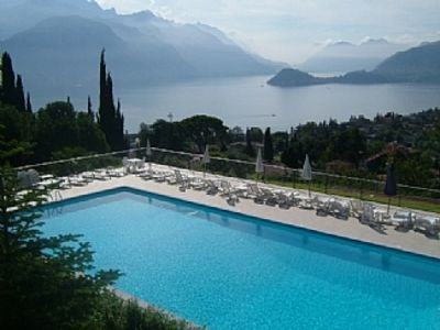 Photo for Apartment with Spectacular Lake and Mountain Views, Fabulous Pool and Tennis
