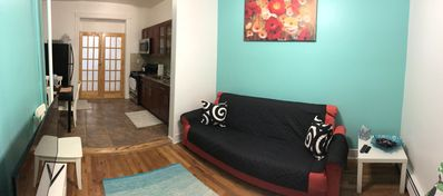 Photo for Airy Brownstone Duplex 20 minutes to Manhattan/Groups