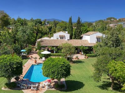 Photo for 5 bedroom Villa, sleeps 10 in Bel-Air with Pool, Air Con and WiFi