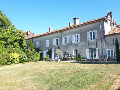 Photo for Large charming house, 400m2, quiet, superb view, Tennis, near Limoges