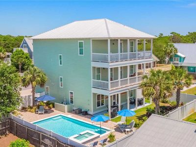 Photo for Still Waters - Gulf Views! Heated Private Pool! Game Room! Complimentary Bikes!
