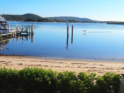 Photo for Central coast waterfront house  St Hubert island