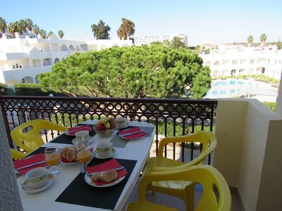 Photo for Albufeira 2 rooms apartment Casablanca, pool, wifi