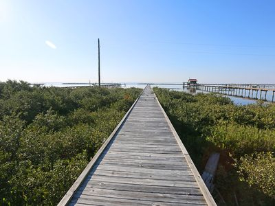 Photo for Beachcombers - Fishing Camp w/ a Private Pier!
