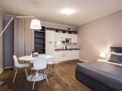 Photo for MyPlace Riviera dei Ponti Romani 9 - Studio apartment with terrace