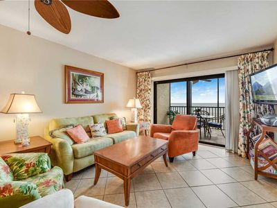Photo for Carlos Pointe 413, 2 Bedrooms, Gulf Front, Elevator, Sleeps 6, Heated Pool