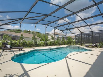 Photo for 4-bedroom house w/ private pool - lovely location