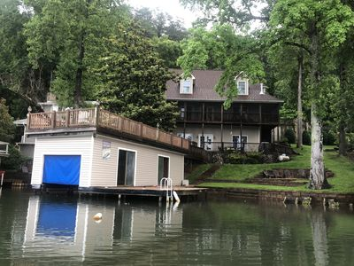 Photo for Lakefront Home 20 Minutes from TIEC, FEI World Games!