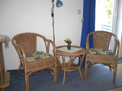 "Photo for Double room with balcony or terrace - Hotel / Pension ""Am National Park"""