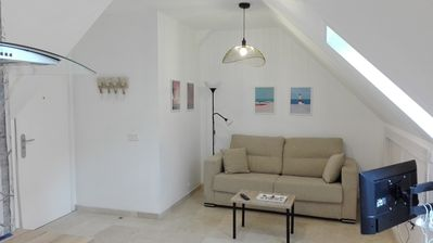Photo for Quiet apartment near the Gran Via and Chueca.