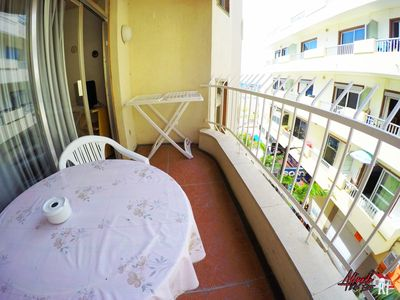 Photo for Apartment with WIFI in the center of Los Cristianos next to the sea