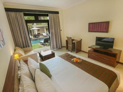 Photo for Deluxe Room in A Small Resort in Jimbaran, Perfect for Honeymooner