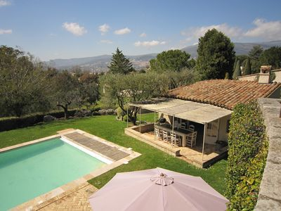 Photo for Incredible, luxury 5 bed/5bath French character villa with heated pool