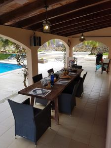 """Photo for Beautiful Holiday Home """"Polita des Carritxo"""" with Mountain View, Wi-Fi, Pool, Garden & Terrace; Parking Available; Pets Allowed"""