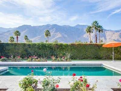 Photo for Blanca Vista: 3  BR, 4  BA House in Palm Springs, Sleeps 6
