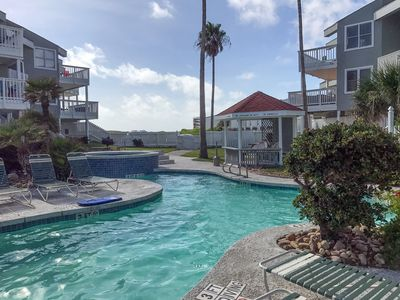 Photo for 2BR at Mustang Island Beach Club w/ Game Room - Views of Gulf, Walk to Beach