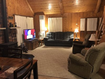 Stupendous Sweet Cabin On The Peshtigo River Minutes From Highfalls Flowage Atv Trails Athelstane Pabps2019 Chair Design Images Pabps2019Com