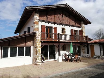 Photo for Very nice apartment for 10 people in authentic Basque house