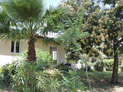 Photo for Houses 2pieces, 4pers, quiet, surrounded by nature 5 minutes walk from the beach