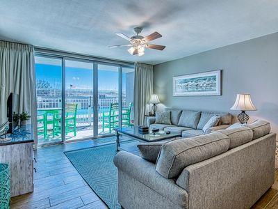 Photo for Beachfront Poolside Condo! Ground floor access, No stairs or elevator! IP 107